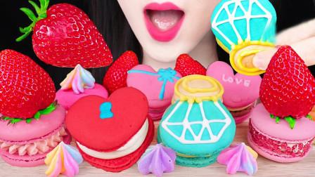 网红吃播月入6万的生活日常,每天一桌精美的甜食,你羡慕吗?