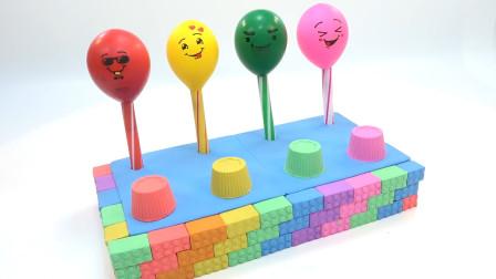 乐享形状乐园教你用彩泥制作各种口味棒棒糖