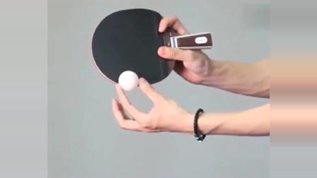 乒乓球教学:下旋球结合不转球,发球技术讲解