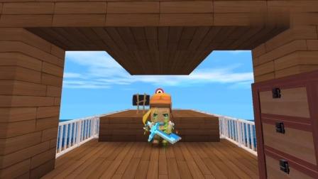迷你世界:大表哥是水神,拥有四件厉害的神器
