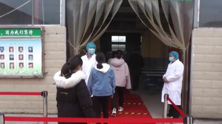 鄢陵县南坞镇一中举行疫情防控开学应急处置演练