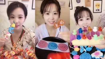 萌姐试吃:果冻小鸭子和果冻猫爪糖还有卡通棉花糖,各种各样任选,好可爱啊!