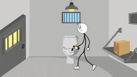 火柴人逃跑第3期,火柴人用电钻逃跑,这个玩起来到底是怎样的?