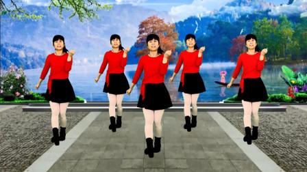 广场舞《都说》节奏欢快动感,简单又好看