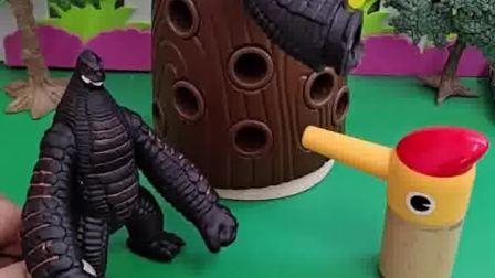 小鸟宝宝要吃虫子,这些虫子看起来怪怪的,小朋友们认识吗?