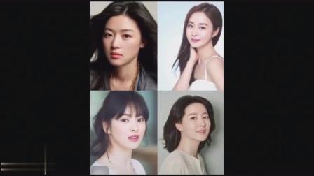 老外看中国:中国、日本、韩国女星美貌大比拼,网友评论无比的统一!
