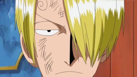 海贼:敌人以为香吉只会踢技,其实香吉最厉害的是用菜刀