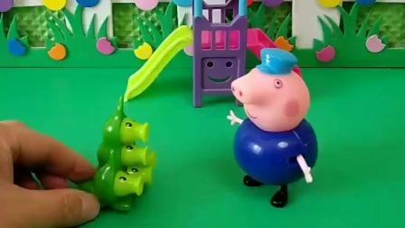 植物长大去找小鬼了,以为带帽子的全是,结果把乔治猪爷爷都给误伤了