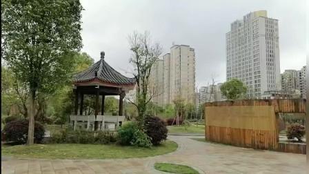 脚步下的城市风情 - 江西省宜丰县新昌公园