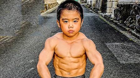 史上最强模仿秀,7岁儿童模仿李小龙,动作像肌肉也像!