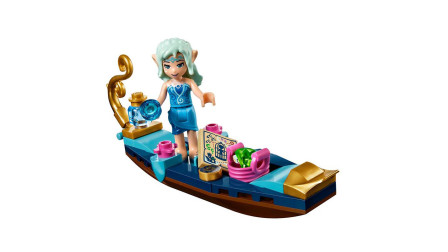 LEGO乐高积木玩具精灵系列41181娜伊达小舟与精灵盗贼套装速拼