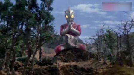 奥特曼:分尸狂艾斯不仅给怪兽留个全尸,还给怪兽立个新坟