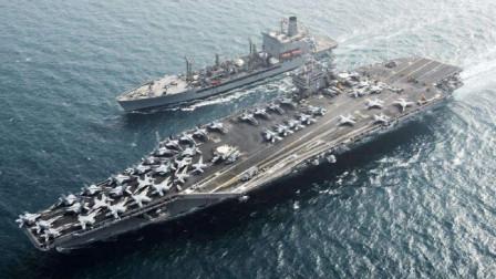 不费一枪一弹,美军核航母就丧失开战能力,3600名大兵命悬一线