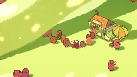 请吃红小豆吧:红豆开始排长队,想办一个试吃活动,结果把红豆抹茶卷越吃越小了
