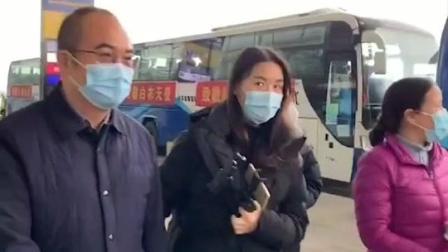 #上海首批援鄂医疗队 135人今天离开武汉,#金银潭医院 院长张定宇特意来到天河机场送别