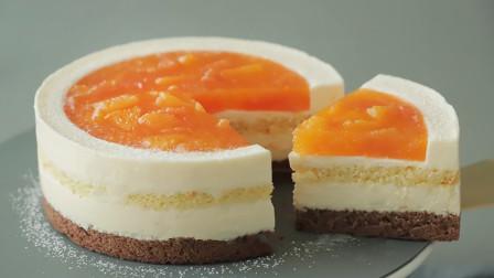 橙子别再直接吃啦!教你用它做出美味橙子芝士蛋糕,孩子们超喜欢