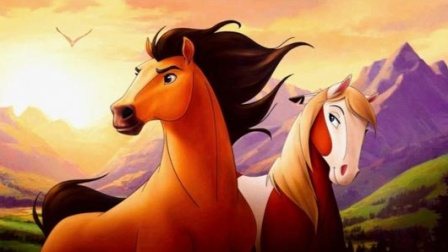 裸眼3d《小马精灵》:动物之间的爱情,更纯粹更珍贵