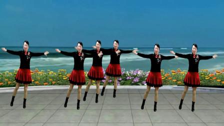 经典怀旧广场舞《九月九的酒》背面 还是老歌听不厌 老舞看不烦