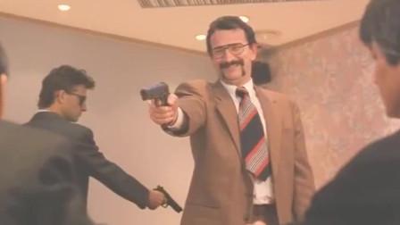 经典影视片段-刘德华将枪藏在烧鸭之中,助黑帮老大灭掉了所有杀手!