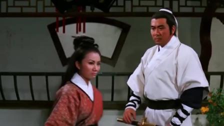 姑娘腿瘸用2把宝剑做拐杖,谁知2把剑是武林第一神剑