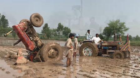 巴基斯坦农民的日常操作-事故救援&集体沦陷