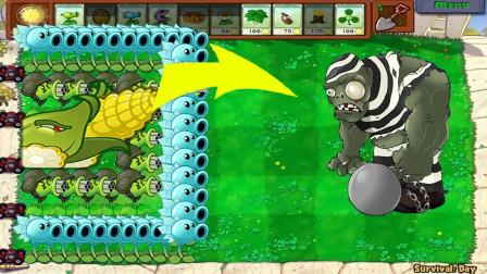 玉米投手换成了加农炮  植物大战僵尸游戏