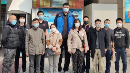 中国篮协11人献血支援抗疫 姚明晒献血证 成功献血400毫升