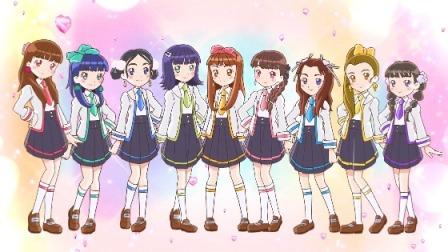 女学。~圣女斯克威尔学院~ Girls2的九位成员亲自配音,少女们憧憬着站上梦想中的舞台!