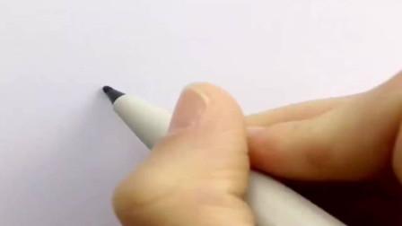 创意简笔画教学,教孩子们画小燕子,简单易学!