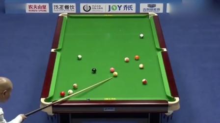 赵本山徒弟王小利参加中式台球国际大师赛水平如何!