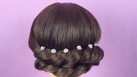 教你一款适合中年女人扎的发型,优雅低调,显气质