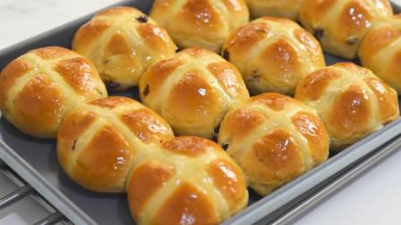 终于找到面包最简单做法,蓬松香甜,柔软拉丝,不用给孩子买早餐