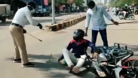 印度花式抗疫,网友:还是不要出门免受皮肉之苦!