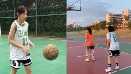 会打篮球的女生有多美!这样酷的宝藏女孩,巾帼不让须眉!