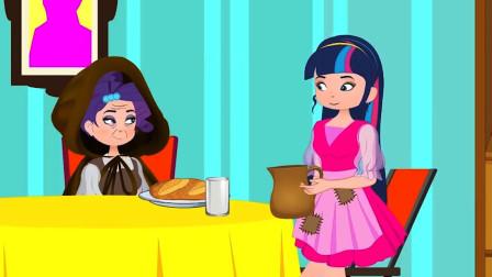 善良女孩从小被姐姐欺负,意外帮助饥饿的老妇人,不料逆袭成了王妃?