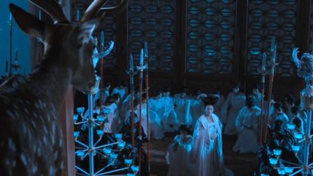 皇宫里出现神鹿,武则天让所有人跪下,没办法它是国师