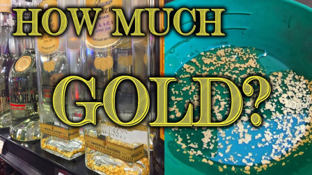 """""""金箔酒""""到底能提炼出多少黄金?土豪斥巨资实验,结果大开眼界!"""