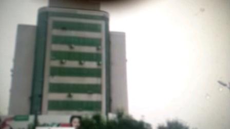 河北省兴隆联通酒店钟楼早上7点报时