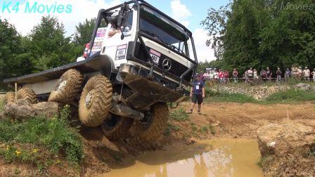 [搬]奔驰8X8卡车  2018欧洲卡车越野赛