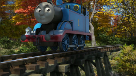 托马斯和朋友 托马斯走废弃铁路线帮朋友西诺找替换零件