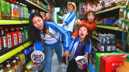 学生逛超市,在泡面桶里放了10个士力架,为什么只付4元