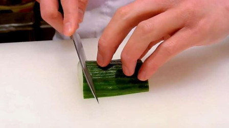 日本厨师声称自己的刀工第一,当中国厨师上台后,震撼才开始