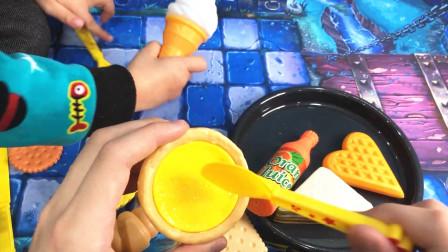 九天玩具 过家家玩具 美式早餐 三明治薯条烤肉蛋挞 迪迦奥特曼吃早餐