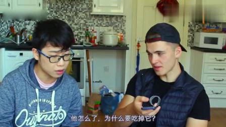 老外在中国:当老外遇上中国网红,英国人看华农兄弟烤竹鼠,反应太逗了!