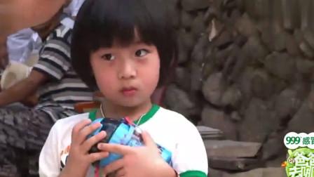 爸爸去哪儿1:森碟哭功厉害,治不了,田亮都要不知怎么反应了!