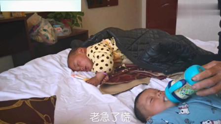 河南:三个月大的孩子爸爸哭了起来,都说男儿有泪不轻弾,看看怎么回事!