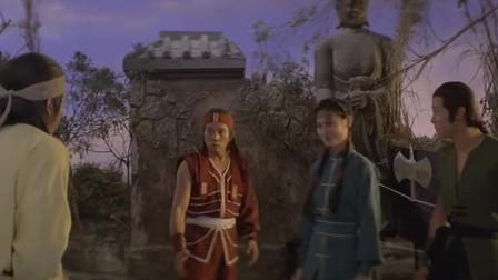 老电影,刘家良、刘家荣兄弟对决,十八般兵器样样精通!