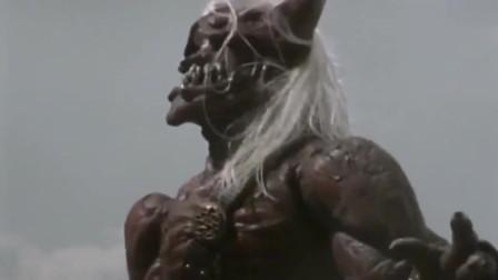 复苏的鬼神怪兽太强大了,迪迦奥特曼都敌不过他的武士刀