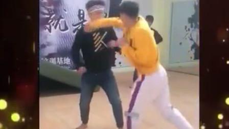 天下武功唯快不破,教练在教实用拳法,却没能挡住小伙的一记快拳