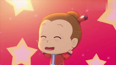 开心超人:小小怪偷了粗心超人的炸弹,结果把自己和大大怪炸晕了